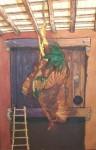 Obras de arte: Europa : España : Castilla_y_León_Burgos : burgos : Pajar con gallo