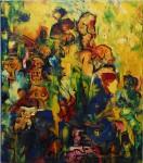 Obras de arte:  : Argentina : Buenos_Aires : Caballito : Amarillo resonante