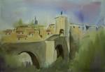 Obras de arte: Europa : España : Catalunya_Girona :  : puente de besalu