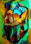 Obras de arte: America : Argentina : Buenos_Aires : CABA : La douleur de vivre