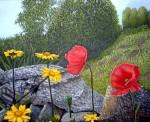 Obras de arte: Europa : España : Galicia_La_Coruña : Coruna : Flores Silvestres