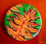 Obras de arte: America : Colombia : Distrito_Capital_de-Bogota : Bogota : Serie Hojas