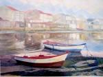 Obras de arte: Europa : España : Galicia_Pontevedra : Cambados : Bajamar en Santo Tomé