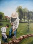 Obras de arte: America : Argentina : Buenos_Aires : CABA : PASION Y DETERMINCION