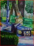 Obras de arte:  : España : Andalucía_Sevilla : sevilla : merecido descanso