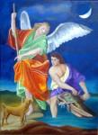 Obras de arte: America : Venezuela : Miranda : Caracas_ciudad : Arcangel San Rafael