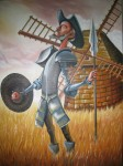 Obras de arte: America : Colombia : Santander_colombia : Barrancabermeja : EL QUIJOTE VENCEDOR
