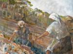 Obras de arte: America : Argentina : Buenos_Aires : Miramar : trabajando