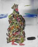 Obras de arte: America : Colombia : Santander_colombia : Bucaramanga : Rey Mago 2