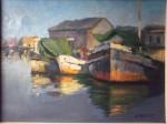 Obras de arte:  : Argentina : Buenos_Aires : Lanus_Este : Barcos reposando