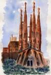 Obras de arte: Europa : España : Catalunya_Barcelona : Castelldefels : Fachada de la Pasión