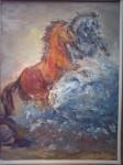 Obras de arte:  : Argentina : Buenos_Aires : Lanus_Este : Confundidos en el agua