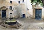 Obras de arte: Europa : España : Catalunya_Barcelona : Castelldefels : PLaza San Felipe Neri