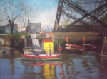 Obras de arte:  : Argentina : Buenos_Aires : Lanus_Este : Amarrando botes