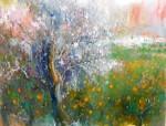 Obras de arte: Europa : España : Islas_Baleares : palma_de_mallorca : El almendro y los naranjos