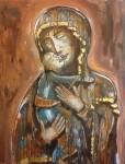 Obras de arte: Europa : España : Andalucía_Granada : Granada_ciudad : Adaptación Virgen de Vladimir