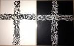 Obras de arte:  : México : Nuevo_Leon : Monterrey : Cross series 4 BW