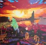 Obras de arte: Europa : España : Galicia_Pontevedra : Cambados : A ti meu Cambados
