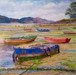 Obras de arte: Europa : España : Galicia_Pontevedra : Cambados : Gamelas de Carril