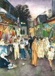 Obras de arte: Europa : España : Catalunya_Barcelona : Barcelona : Zoco de Rabat