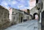 Obras de arte: Europa : España : Catalunya_Barcelona : Castelldefels : Calle