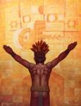 Obras de arte: America : México : Quintana_Roo : cancun : Culto a Chaac