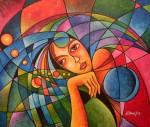 Obras de arte:  : Nicaragua : Managua : Managua_ciudad : SUEÑOS OCULTOS EN LA ALMOHADA TERRÁQUEA