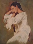 Obras de arte:  : España : Extremadura_Badajoz : Merida_badajoz : PENSANDO