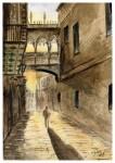 Obras de arte: Europa : España : Catalunya_Barcelona : Castelldefels : Puente del Bisbe