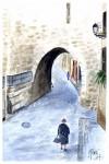 Obras de arte: Europa : España : Catalunya_Barcelona : Castelldefels : Arco de San Lorenzo de Jaén