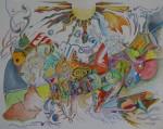 Obras de arte:  : Costa_Rica : San_Jose : Moravia : CAMINANDO HACIA J.A.MOTTA