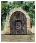 Obras de arte: Europa : España : Catalunya_Barcelona : Castelldefels : Puerta de Besalú (2)