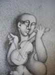 Obras de arte: Europa : España : Aragón_Zaragoza : zaragoza_ciudad : Violinista