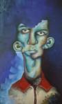 Obras de arte: Europa : España : Aragón_Zaragoza : zaragoza_ciudad : Retrato Azul