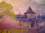 Obras de arte: Europa : Espa�a : Arag�n_Zaragoza : zaragoza_ciudad : Paisaje de Benasque