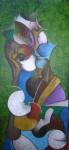 Obras de arte: Europa : España : Aragón_Zaragoza : zaragoza_ciudad : Mujer con abanico