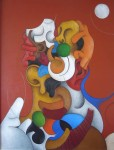 Obras de arte: Europa : España : Aragón_Zaragoza : zaragoza_ciudad : El beso y la luna I