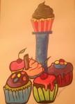 Obras de arte: Asia : Bahrein : Juzur_Hawar : juffair : yummy cupcakes