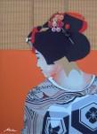 Obras de arte:  : España : Castilla_La_Mancha_Toledo : QUINTANAR : Maiko 06-C: La Hora del Gallo