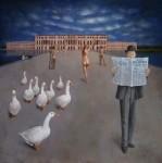 Obras de arte: Europa : Francia : Ile-de-France : Versailles_ciudad : les visiteurs