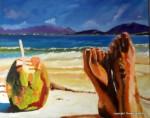 """Obras de arte: Europa : Espa�a : Canarias_Las_Palmas : Maspalomas : A """"P�e"""" de playa"""