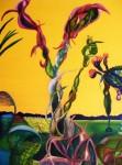 Obras de arte:  : Chile : Region_Metropolitana-Santiago : Las_Condes : Vida Amarilla