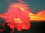 Obras de arte:  : Argentina : Buenos_Aires :  : flor en la noche