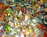 Obras de arte:  : Costa_Rica : San_Jose : Moravia : FIGURAS EN EL AGUA