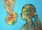 Obras de arte: America : Cuba : Camaguey : Camaguey_ciudad : Tan iguales y diferentes