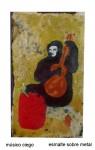 Obras de arte:  : Argentina : Cordoba : cordoba-capital : músico ciego
