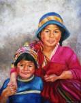 Obras de arte:  : Perú : Lima :  : Niños Cusqueños