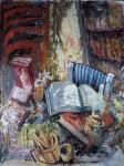 Obras de arte: Europa : España : Valencia : Xativa : Bodegón literario