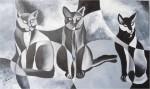 Obras de arte:  : México : Puebla :  : GUARDIANES DE LA OSCURIDAD