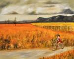 Obras de arte: America : Chile : Region_Metropolitana-Santiago : providencia : Caperucita roja feliz de su encuentro con Mr. Wolf